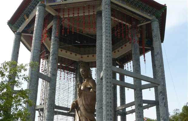 Estatua de Kuan Yin, Penang, Malasia