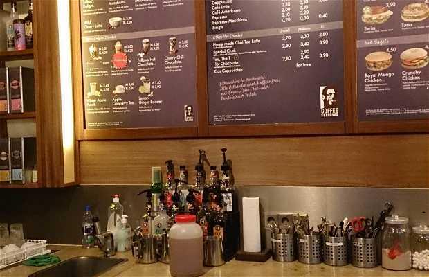 Le café de la gare de Baden Baden