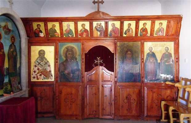 Interiores de la ermita Agioi Anargyroi