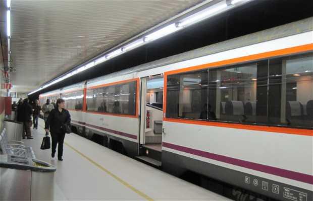 Estación Paseo de Gracia