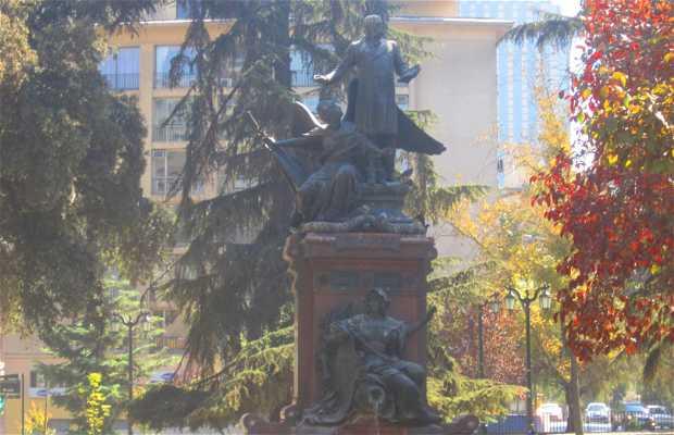 Statue Benjamin Vicuña Mackenna