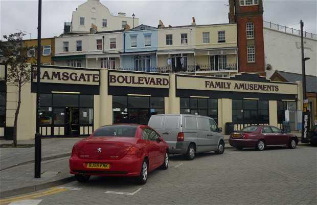 Bulevar de diversión familiar en Ramsgate