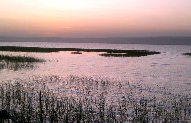 Sunrise on Lake Awassa