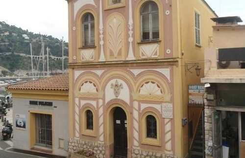 L'église de Villefranche-sur-Mer