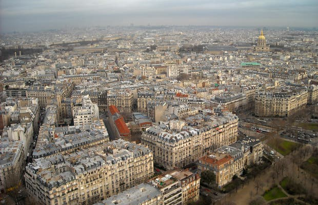 Vues depuis la Tour Eiffel