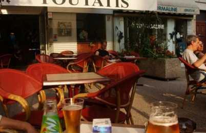 Bar Toutatis, Vienne, Francia