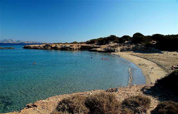 Playas en Naxos – Moutsouna Beach