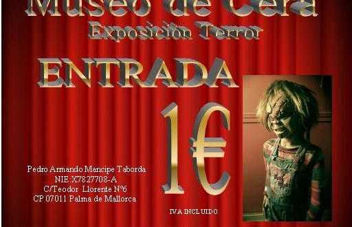 Museo de cera exposicion terror