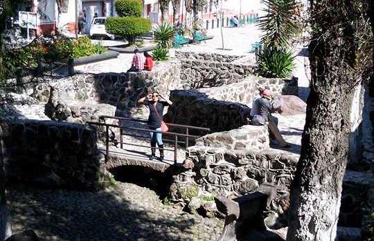 Parque de Tenango del Valle