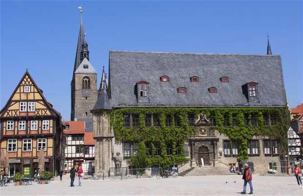 Collegiate and old town of Quedlinburg