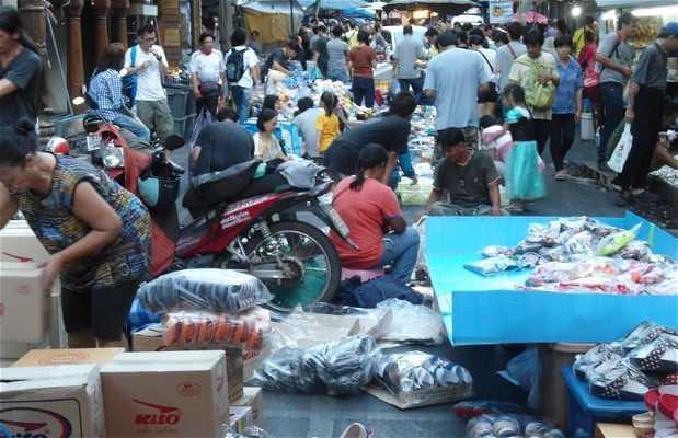 Le grand marché chinois de Bangkok