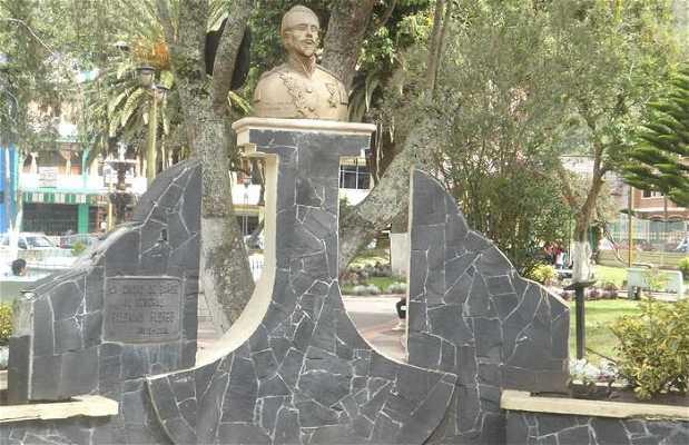 Estatua de Palomino Flores