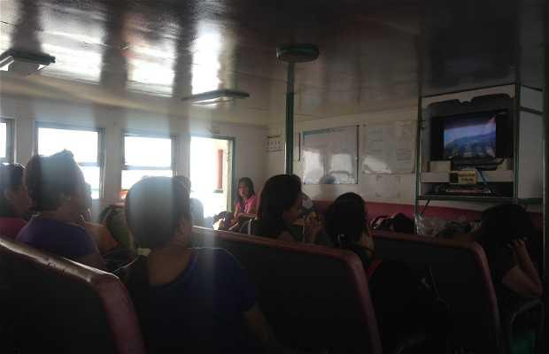 Barco lento Dumaguete-Siquijor