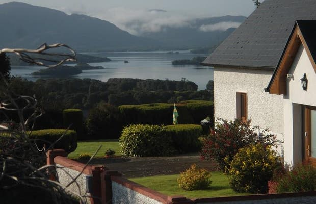 Vue sur les lacs depuis Killarney