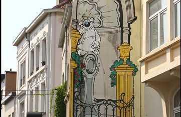 Mural de Cubitus - Dupa