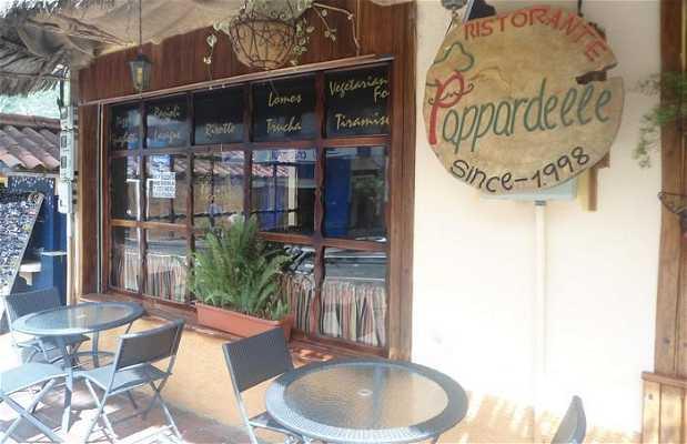 Le restaurant Pappardelle