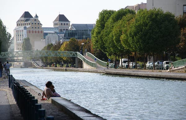 Canal del Ourcq