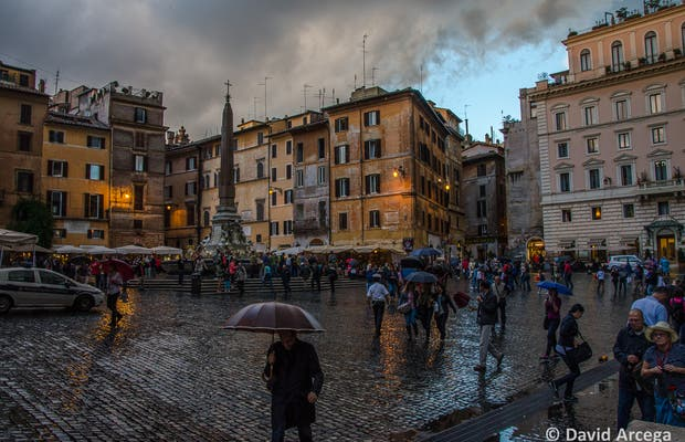 Piazza della Rotonda o Piazza del Pantheon