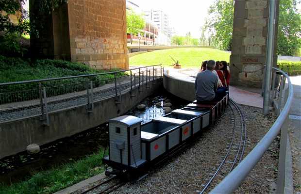 El mini Ferrocarril de Vallparadis