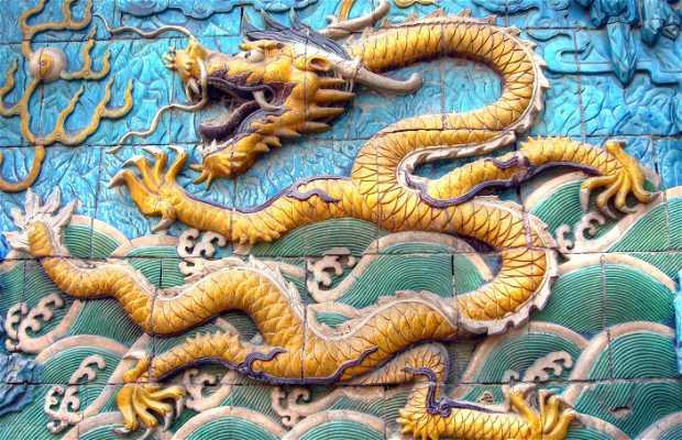 Il muro dei Nove Dragoni di Pechino