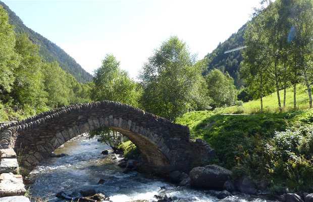 Puente románico Ordino