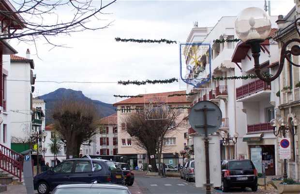 L'Hôtel de ville de Hendaya