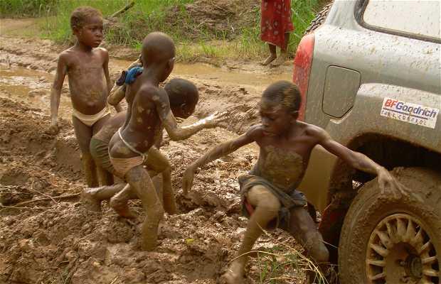 Crianças de Mayombe