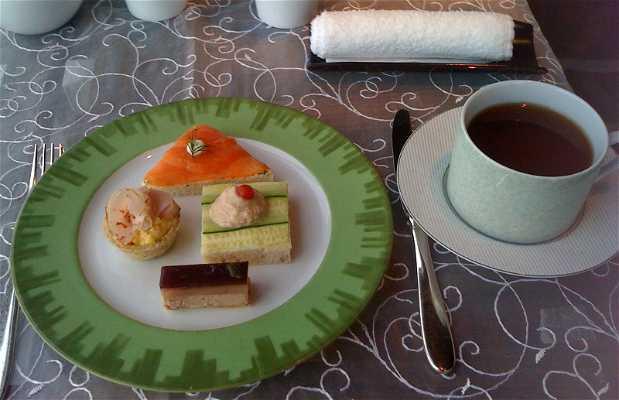 Cafetería del hotel Mandarin Oriental