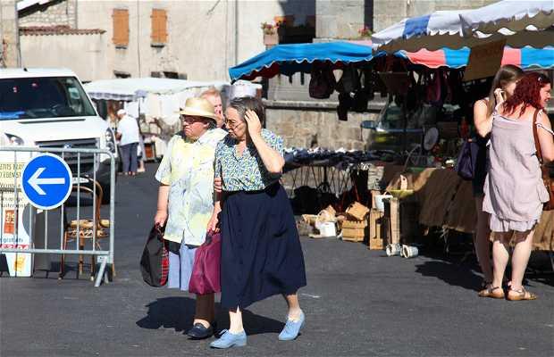 Marché de Saint-Anthème