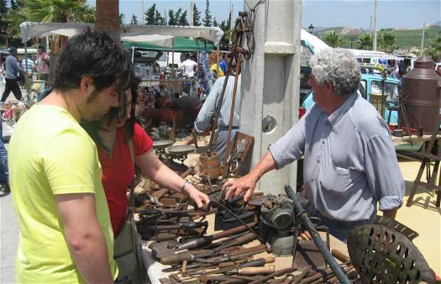 Flea market in Manilva