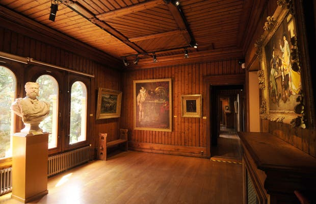 Musee roybet fould for Architecture traditionnelle scandinave