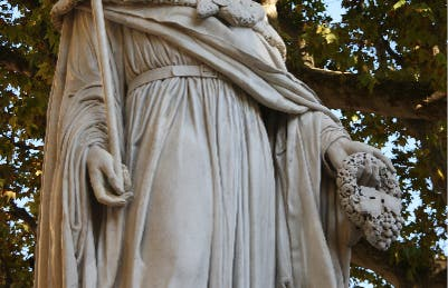 Estatua del rey René
