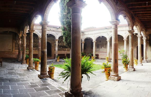 Monasterio de los Agustinos, Charo, Michoacan, Mexico.