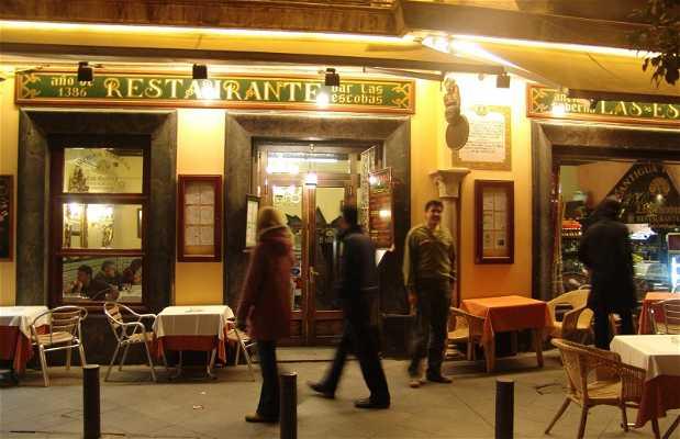 Il ristorante Las Escobas a Siviglia