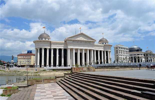 Palazzo del Museo Archeologico, della Corte Costituzionale e dell'Archivio di Stato