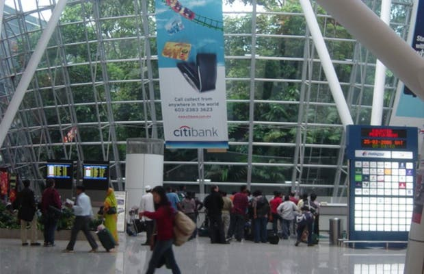 L'aéroport international de Kuala Lumpur