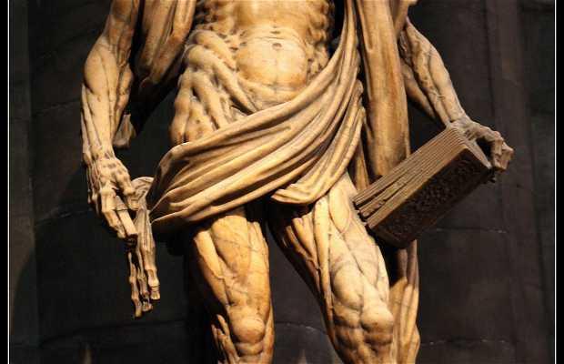 Statue de l'Apôtre San Bartolomé