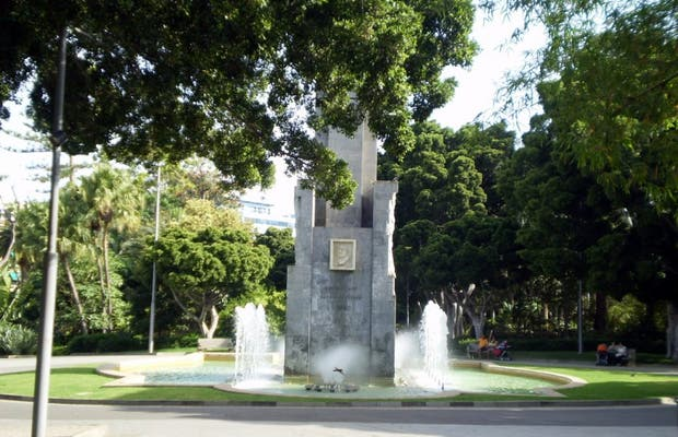 Monument to García Sanabria
