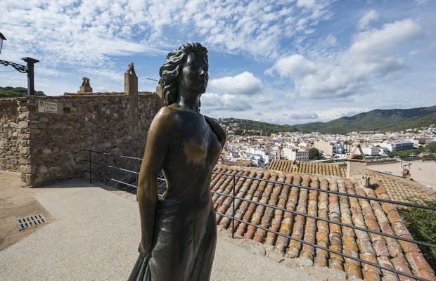Estatua de Ava Gardner