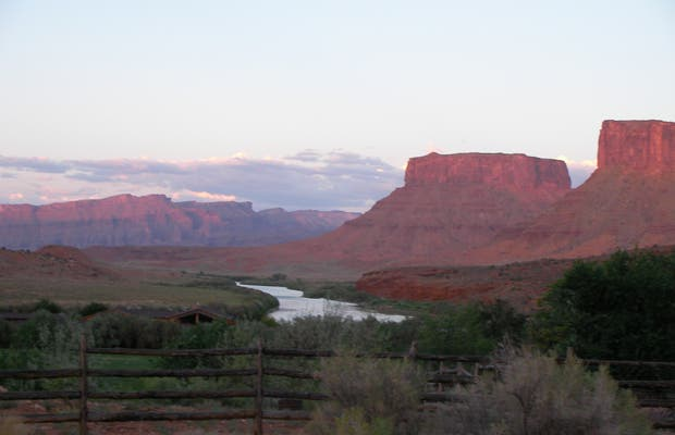 Highway 128 from Moab to Deway