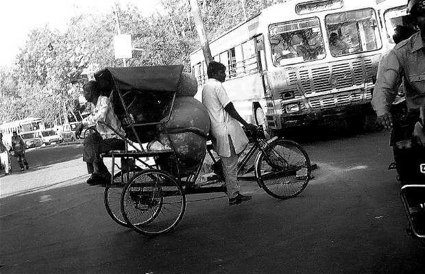 Rickshaw de Katmandu