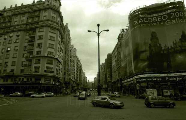 España square to Alcalá