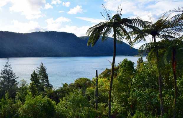 El lago Azul y el lago Verde