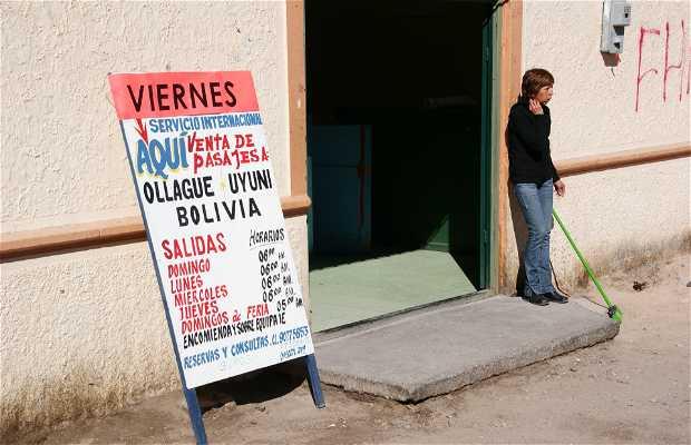 Oficina Bus de la Frontera, Calama, Chili