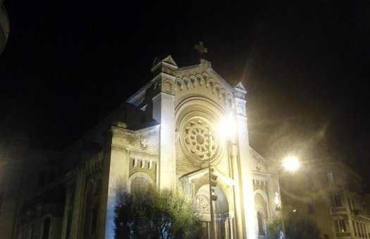 La iglesia de Saint Pierre d'Arena