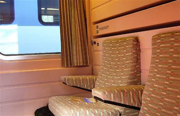 Train - Hôtel Francisco de Goya : Route Madrid - Paris