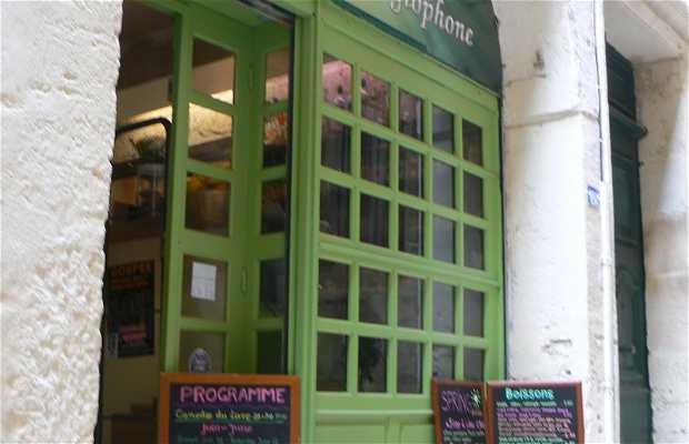 Bar bookshop