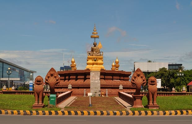 Samdech Chuon Nath Statue