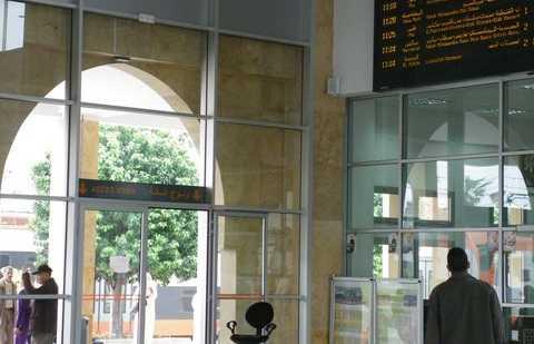 Estación de trenes de Salé