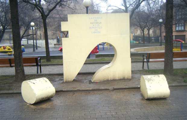Monumento a los donantes de sangre